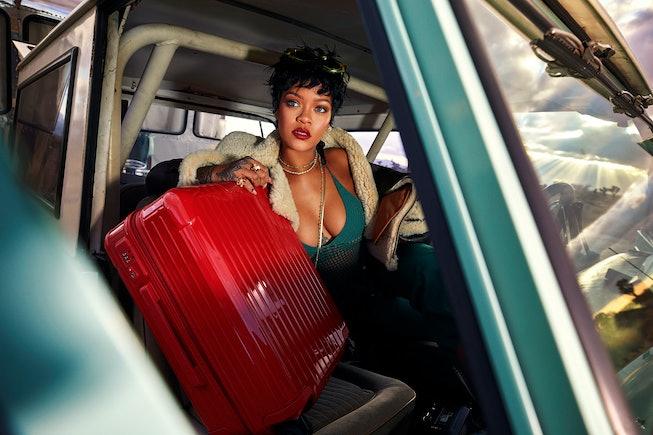 Rihanna for Rimowa.