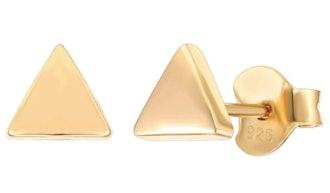 PAVOI 14K Gold Plated Stud Earrings