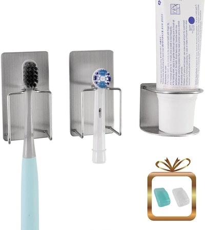 WANYU Toothbrush and Toothpaste Holder
