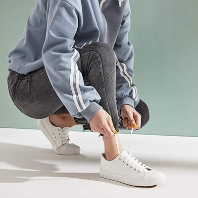 hash bubbie PU Leather Sneakers