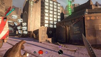 Deathloop Yerhva Building PS5 Queen of Riddles