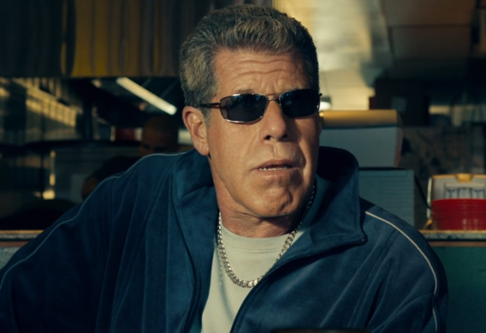 Ron Perlman in Drive.