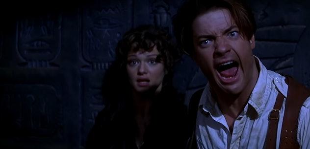 The Mummy stars Brendan Fraiser and Rachel Weisz
