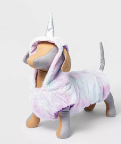 unicorn Halloween costume for a dog
