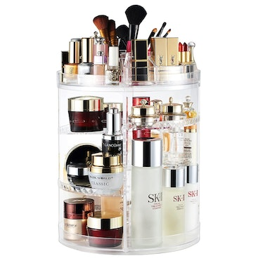 AMEITECH Rotating Cosmetic Storage Display Case