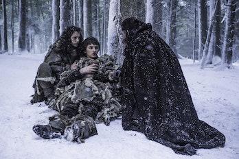 Benjen saves Bran and Meera in Game of Thrones Season 6