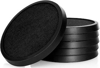 Comfortena Silicone Absorbent Coasters (Set of 6)