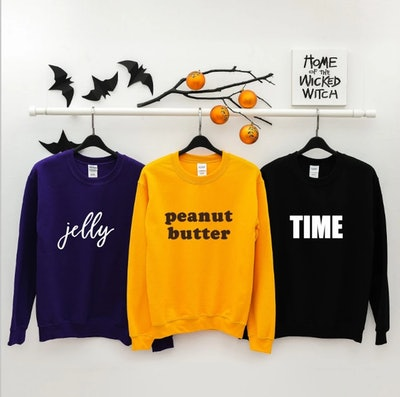 Peanut Butter, Jelly, & Time Sweatshirts on Etsy
