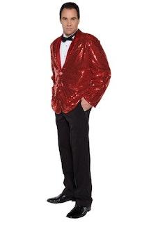 Red Sequin Costume Jacket