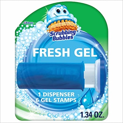 Scrubbing Bubbles Fresh Gel Toilet Bowl Cleaning Stamps (6-Pack)