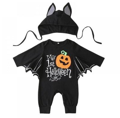 Baby Halloween bat costume