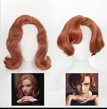 Beth Harmon Halloween Wig