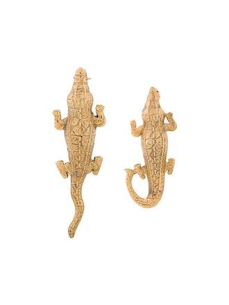 Small Crocodile Earrings