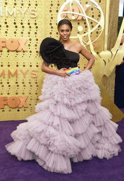 Laverne Cox attends the 71st Emmy Awards at Microsoft Theater on September 22, 2019 in Los Angeles, ...