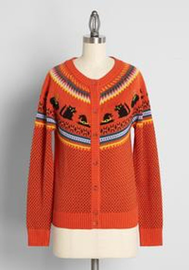 Witches Candy Fair Isle Cardigan