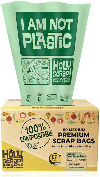 Holy Scrap! Compostable Trash Bags (50-Count)