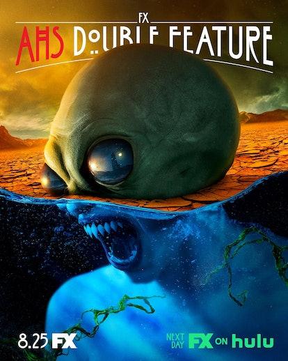 AHS: Double Feature Alien Poster