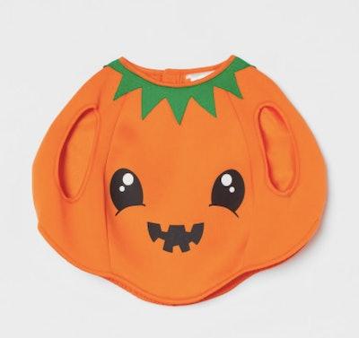 Baby Halloween pumpkin costume