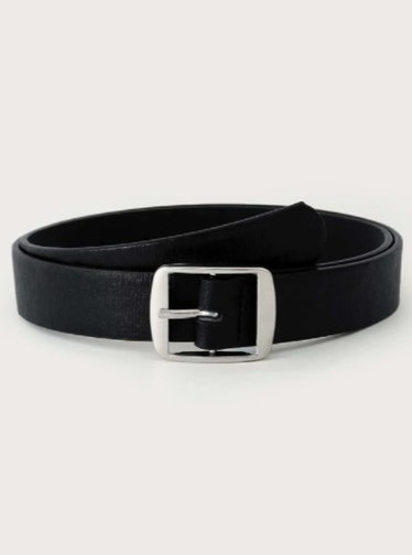A square buckle belt from SHEIN.
