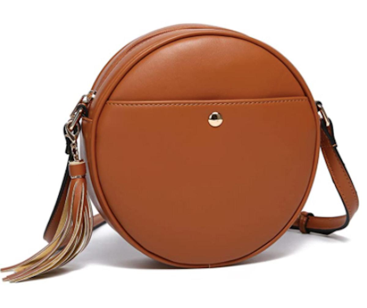 CATMICOO Round Crossbody Bag