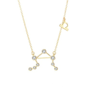18K Gold Plated Zodiac Constellation Necklace