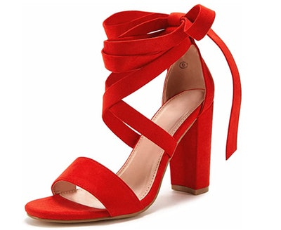 Huiyuzhi Lace Up High Heeled Sandals
