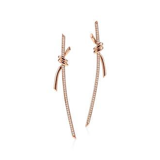 Tiffany Knot Drop Earrings