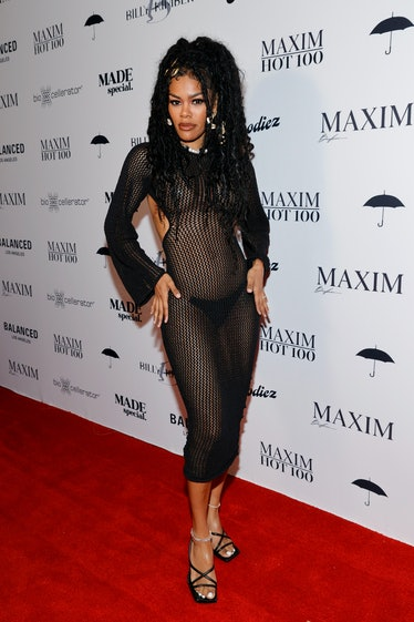 Teyana Taylor attends a Maxim Hot 100 Event celebrating Teyana Taylor, hosted by MADE special, at Th...