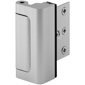 Defender Security Satin Door Reinforcement Lock