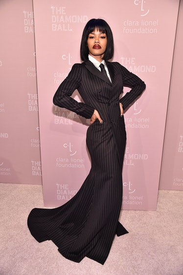 Teyana Taylor attends Rihanna's 4th Annual Diamond Ball at Cipriani Wall Street on September 13, 201...