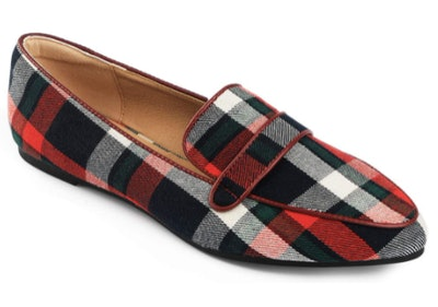 Trary Pointed Toe Loafers