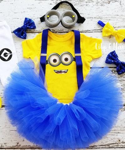 Minion Girls Baby Halloween Costume