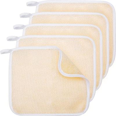 Tatuo Exfoliating Washcloths (5-Pack)