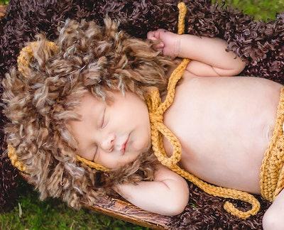 Baby Boy Lion Costume