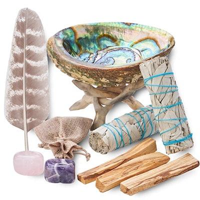 Blue River Sage Home Cleansing & Smudging Kit