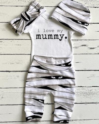 Mummy Baby Halloween Costume