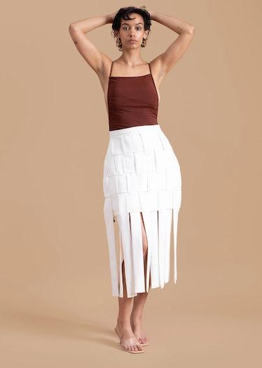 Gozel Green Skirt