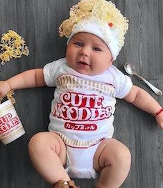 baby Ramen noodles Halloween costume