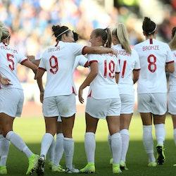 The England women's football team Norway v England, Women's International Friendly, Football,