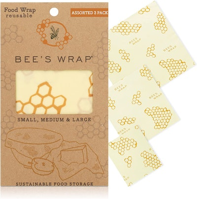 Bee's Wrap Reusable Beeswax Food Wraps (3 Pack)