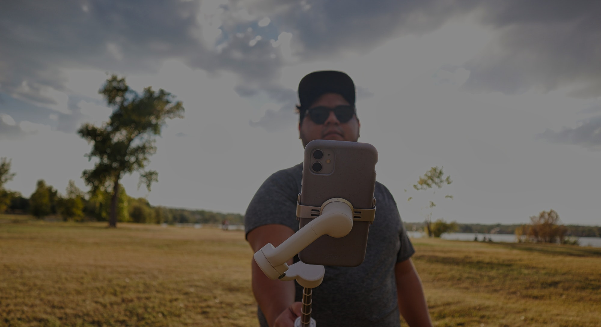 Osmo mobile 5 phone stabilizer with selfie stick