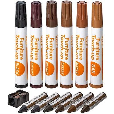 Katzco Furniture Repair Kit Wood Markers (13 Pack)