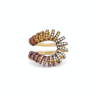 Ana Khouri Maia Diamond, Sapphire & 18KT Gold Ring