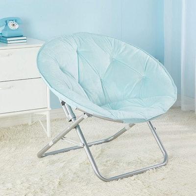 Urban Shop Micromink Saucer Chair