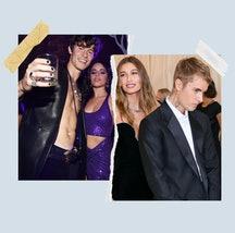 Exes Hailey Bieber and Shawn Mendes with their new partners Justin Bieber and Camila Cabello.