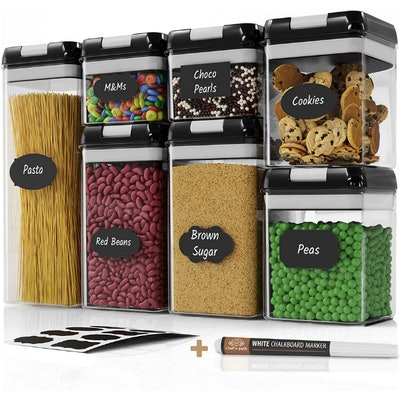 Chef's Path Airtight Food Storage Containers Set (7 Pieces)
