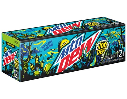 Mountain Dew's 2021 mystery flavor has definite berry vibes.