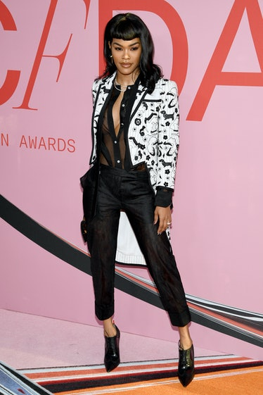 Teyana Taylor attends the CFDA Fashion Awards at the Brooklyn Museum of Art on June 03, 2019 in New ...