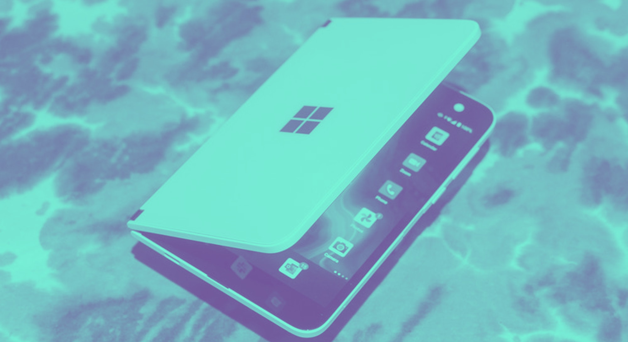 Surface Duo smartphone foldable