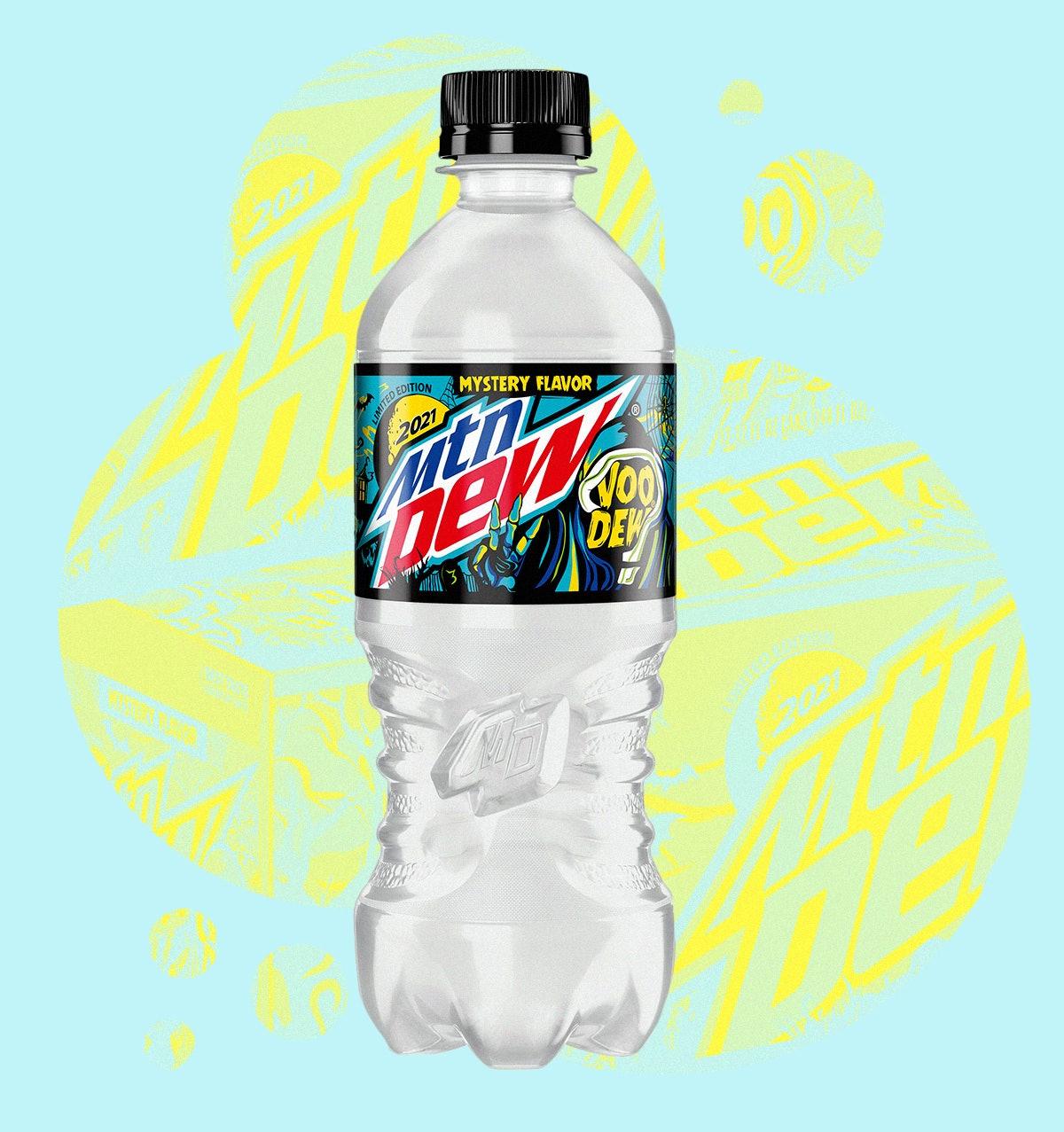 Mountain Dew's 2021 Voo-Dew mystery Halloween flavor.
